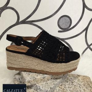 zapatos para mujer online. Sandalia mujer plataforma