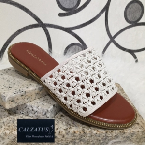 zapatos para mujer online. Sandalia abierta
